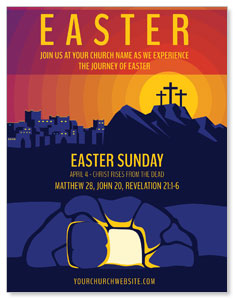 Easter Sunday Graphic ImpactMailers