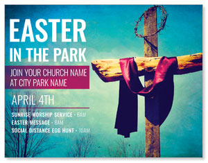 Easter In Park Blue ImpactMailers