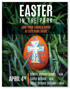 Easter In Park Grass ImpactMailers