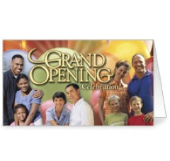 Grand Opening Invite Card