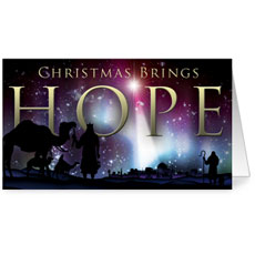 Christmas Brings Hope InviteCard