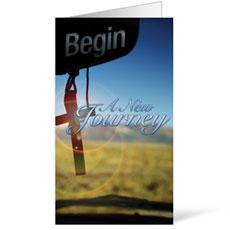 New Journey InviteCard