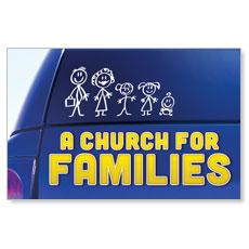 Church for Families InviteCard