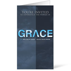 Grace: Max Lucado InviteCard
