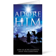 Adore Him InviteCard