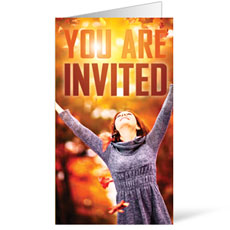 You're Invited Fall InviteCard