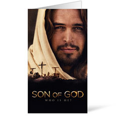 Son of God Who is He? InviteCard