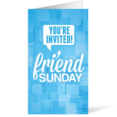 Friend Sunday 2014 InviteCard