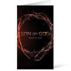 Son of God Crown InviteCard