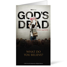 Gods Not Dead InviteCard