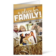 A Place for Family Fall InviteCard