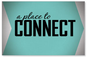 Place to Connect Welcome InviteCards