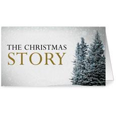 Christmas Story Trees InviteCard
