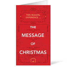 The Message of Christmas InviteCard