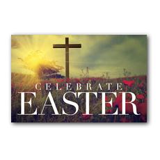 Celebrate Easter Cross InviteCard