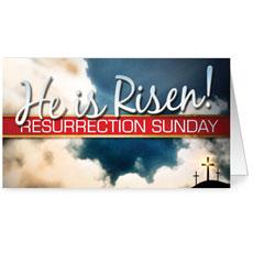 Risen Resurrection InviteCard