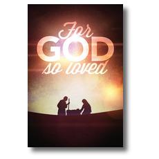 For God So Loved Nativity InviteCard