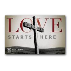 Love Starts Here InviteCard