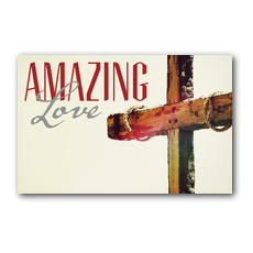 Amazing Love Cross InviteCard