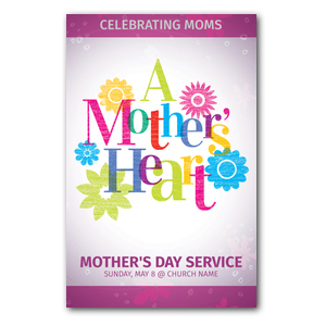A Mothers Heart InviteCards