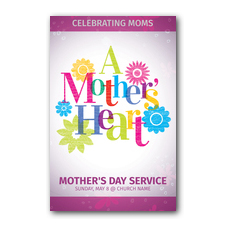 A Mothers Heart InviteCard