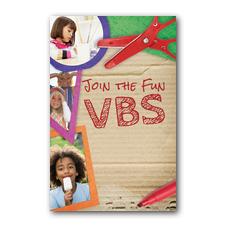 VBS Crafts InviteCard