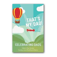 Thats My Dad InviteCard