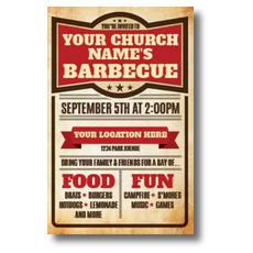 BBQ Details InviteCard