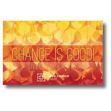 Change Is Good InviteCard