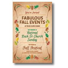 Fabulous Fall InviteCard