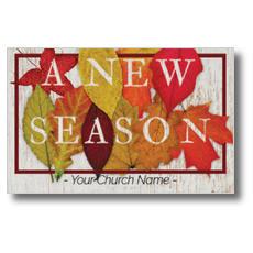 Fall Season Leaves InviteCard