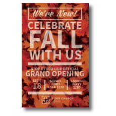 Leaf Event InviteCard