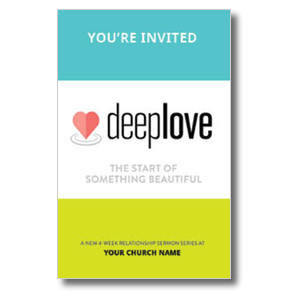 Deep Love Medium InviteCards