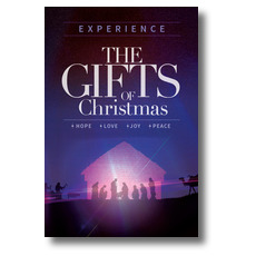 The Gifts of Christmas Advent InviteCard