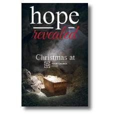 Hope Revealed Manger InviteCard