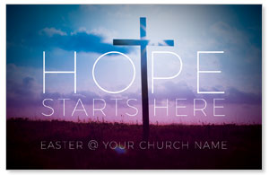Hope Starts Here Medium InviteCards
