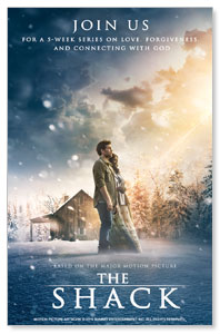The Shack Movie Medium InviteCards