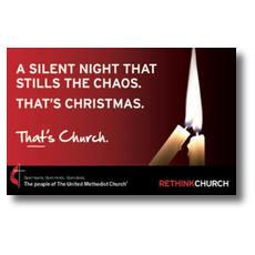 UMC Silent Night InviteCard