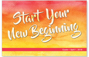 Big Invite New Beginning InviteCards