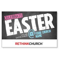 UMC Easter At Chalk InviteCard