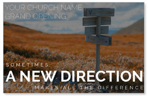 A New Direction InviteCards