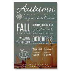 Autumn Activities InviteCard