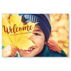 Leaf Kid InviteCard