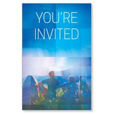 Modern Mosaic Welcome InviteCard