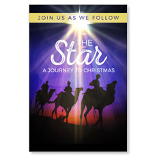 The Star A Journey to Christmas InviteCard