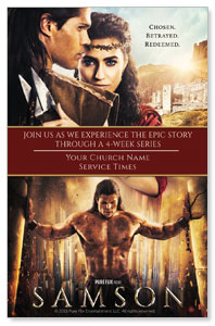 Samson Movie InviteCards