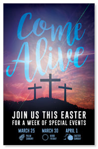 Come Alive Easter Journey InviteCards