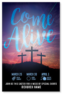 Come Alive Easter Journey Medium InviteCards