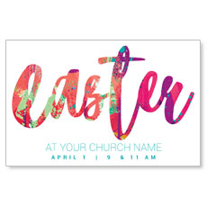 Easter Paint Splatter