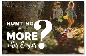 Hunting This Easter InviteCards